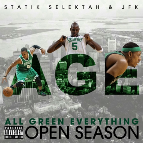 00 - Statik_Selektah_JFK_Age_All_Green_Everything-front-large